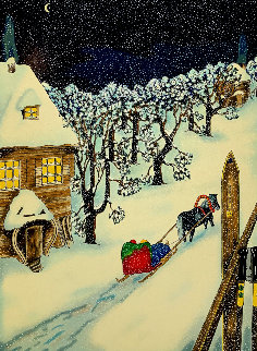 Winter Limited Edition Print by Linnea Pergola