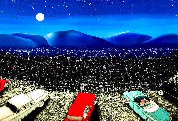 One Summer Night  (aka Giant) 1990 Limited Edition Print - Linnea Pergola
