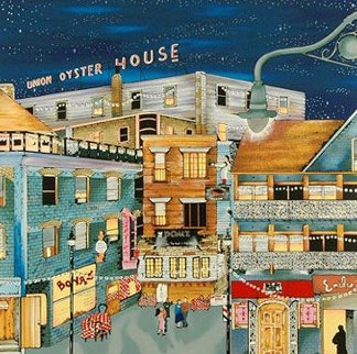 North End Night Out 1996 Limited Edition Print by Linnea Pergola