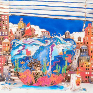 Fishbowl in NYC Limited Edition Print by Linnea Pergola