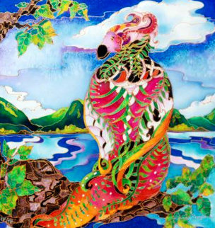Fantasy Bird 2009 Limited Edition Print - Linnea Pergola