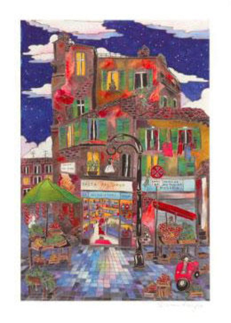 Le Petit Pont Suite of 4 Limited Edition Print by Linnea Pergola