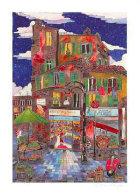 Le Petit Pont Suite of 4 Limited Edition Print by Linnea Pergola - 0