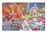 Le Petit Pont Suite of 4 Limited Edition Print by Linnea Pergola - 1