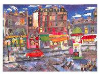 Le Petit Pont Suite of 4 Limited Edition Print by Linnea Pergola - 3