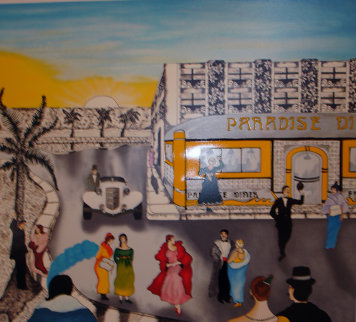 Paradise Diner 1990 Limited Edition Print by Linnea Pergola