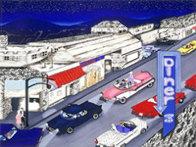 Cruise Night 1990 Limited Edition Print by Linnea Pergola - 2