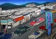 Cruise Night 1990 29x40 Super Huge Original Painting by Linnea Pergola - 0
