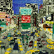 Sign of the Times, Times Square 1990 Limited Edition Print by Linnea Pergola - 0