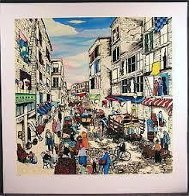 Mulberry Street, New York (Little Italy) Super Huge Limited Edition Print by Linnea Pergola - 1