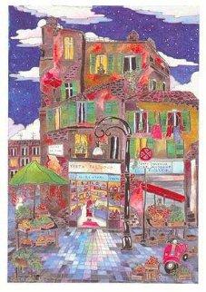 Le Petit Pont Suite of 4 Limited Edition Print - Linnea Pergola