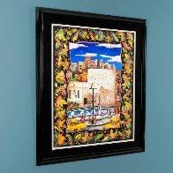 Fall in NYC 52x42 Super Huge Original Painting by Linnea Pergola - 3
