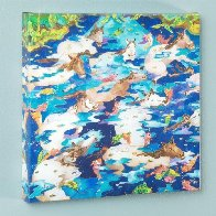Swimming Ponies I 2009 Limited Edition Print by Linnea Pergola - 1