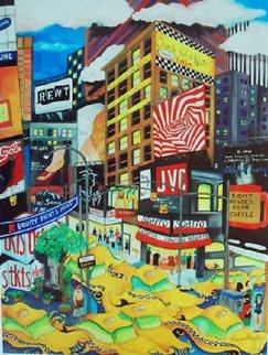 NY Frenzy 2008 Limited Edition Print - Linnea Pergola