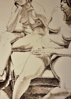 Two Nudes 1970 Limited Edition Print by Philip Pearlstein