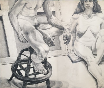 2 Models 1976 Limited Edition Print - Philip Pearlstein