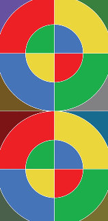 Number 8-1 2013 Limited Edition Print by Peter Blake