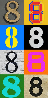 Number 8-3 2013 Limited Edition Print by Peter Blake