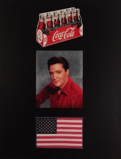 American Trilogy, Set of 3 Prints 2012 Limited Edition Print by Peter Blake