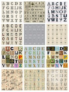 Appropriated Alphabets Portfolio of 12 Limited Edition Print by Peter Blake
