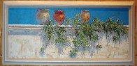 Plantes de Aire 2007 24x60 Super Huge  Original Painting by Endre Peter Darvas - 3