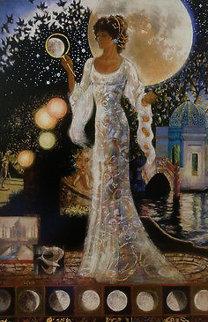 Moonlit Garden 2012 Limited Edition Print - Peter Nixon