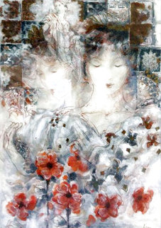Festival of Flowers I 1997 Limited Edition Print - Peter Nixon