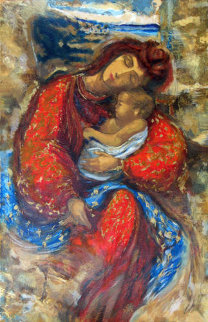 Mother and Child 1994  Limited Edition Print by Peter Nixon
