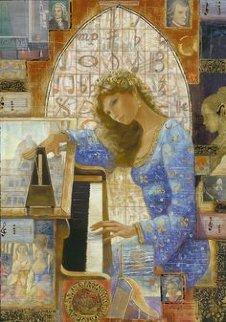 Harmonic I Embellished 2014 Limited Edition Print - Peter Nixon