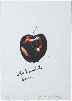 Jots And Tittles Suite of 12 Lithographs 1998 Limited Edition Print by Raymond Pettibon