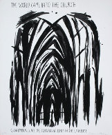 World Came into the Church PP 1990 Limited Edition Print by Raymond Pettibon - 0
