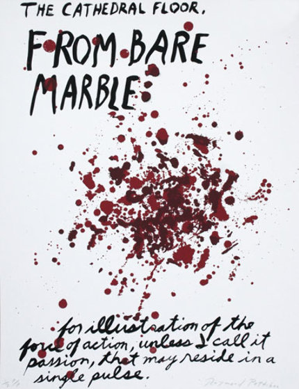 From Bare Marble PP 1990 Limited Edition Print by Raymond Pettibon