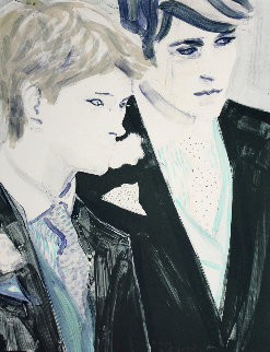 Prince Harry And Prince William 2000 Limited Edition Print by Elizabeth Peyton