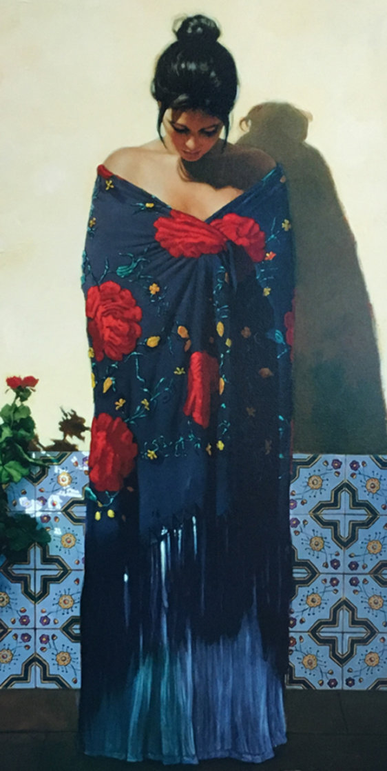 Shawls of Spain Purpora 2006 Limited Edition Print by Gabriel Picart