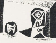 Composition With Stemmed Glass PP 1947 Limited Edition Print by Pablo Picasso - 0
