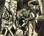 Scene Interieure   Limited Edition Print - Pablo Picasso