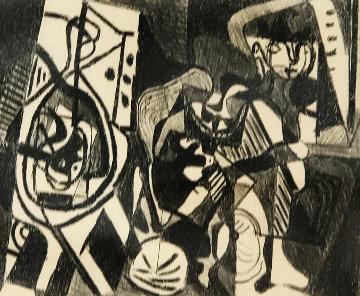 Scene Interieure   Limited Edition Print - Pablo Picasso