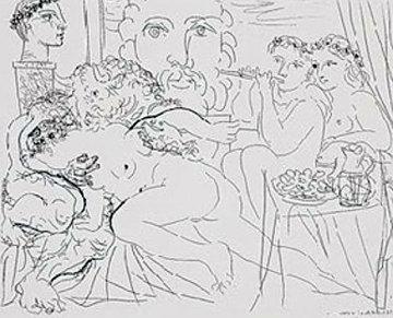 Minotaure Caressant Une Femme  1933 Limited Edition Print - Pablo Picasso