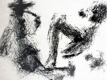 Homme a La Pipe 347  1969 Limited Edition Print by Pablo Picasso