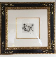 Homme a La Pipe 347  1969 HS  Limited Edition Print by Pablo Picasso - 1