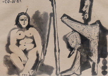 Le Peintre Et Son Modele (Bloch 1133) Limited Edition Print by Pablo Picasso