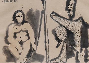 Le Peintre Et Son Modele (Bloch 1133) Limited Edition Print - Pablo Picasso