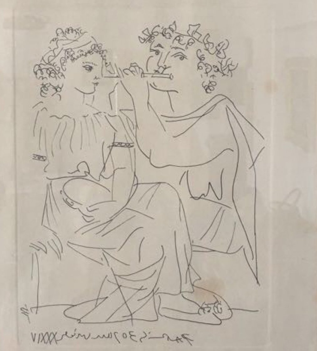 Sans Titre 1934 Limited Edition Print by Pablo Picasso