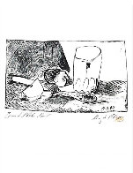 Apples, Glass and Knife (March 11, 1947) PP HS Limited Edition Print by Pablo Picasso - 2