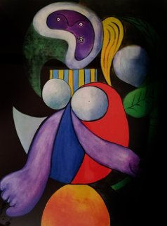 Woman And Flower 1982  Limited Edition Print - Pablo Picasso