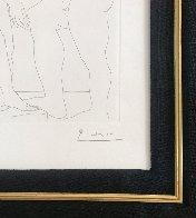 Deux Hommes Sculpts: Vollard Suite 1933 HS Limited Edition Print by Pablo Picasso - 3