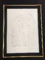 Deux Hommes Sculpts: Vollard Suite 1933 HS Limited Edition Print by Pablo Picasso - 1