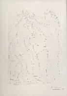 Deux Hommes Sculpts: Vollard Suite 1933 HS Limited Edition Print by Pablo Picasso - 2