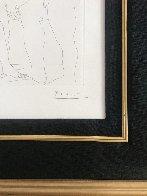 Deux Hommes Sculpts: Vollard Suite 1933 HS Limited Edition Print by Pablo Picasso - 4