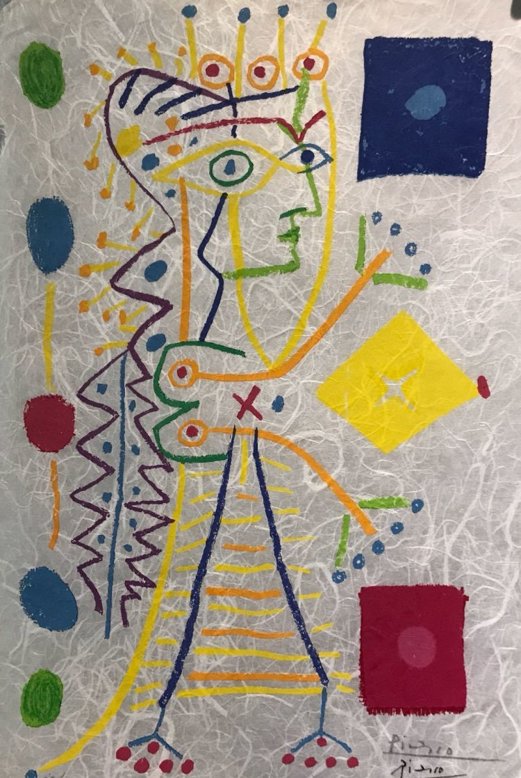 Jacqueline (White) 1958 HS Limited Edition Print by Pablo Picasso